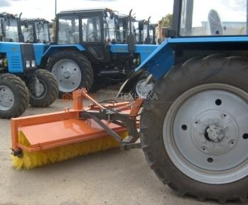 Щетка гидравлическая задняя для тракторов (МТЗ-80/82, Kioti и др.)